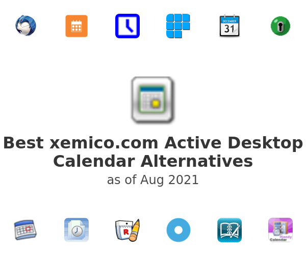 Best Active Desktop Calendar Alternatives