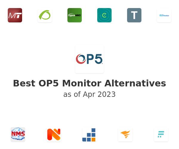 Best OP5 Monitor Alternatives