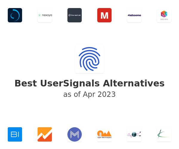 Best UserSignals Alternatives