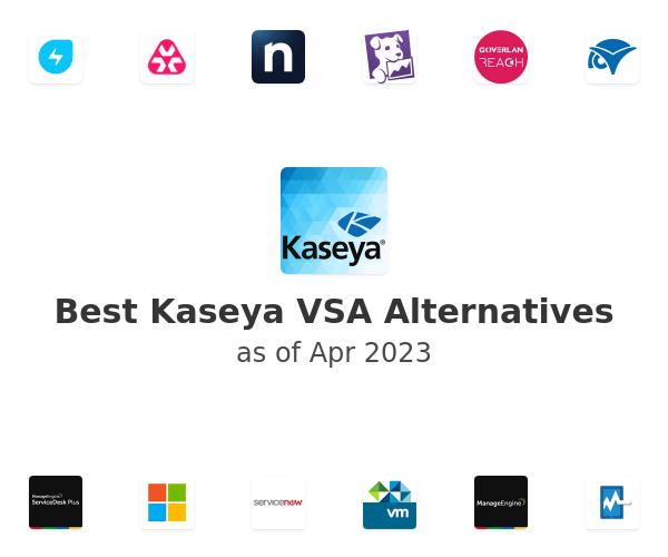 Best Kaseya VSA Alternatives