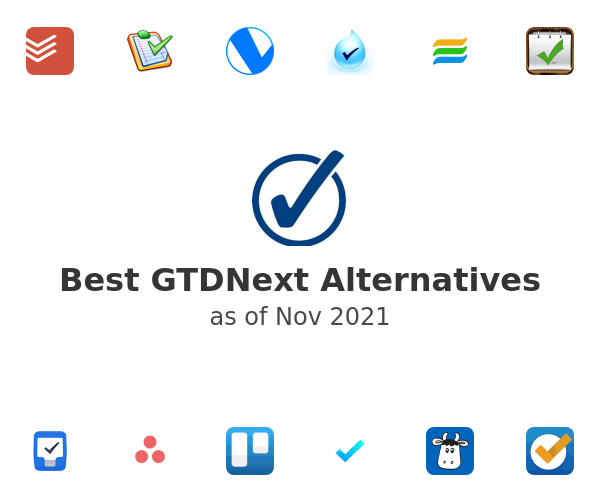 Best GTDNext Alternatives