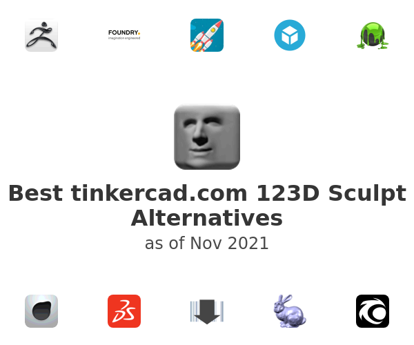 Best 123D Sculpt Alternatives