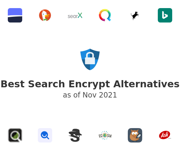 Best Search Encrypt Alternatives