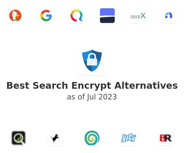 Best Search Encrypt Alternatives