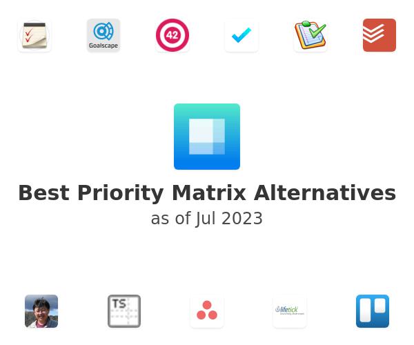 Best Priority Matrix Alternatives