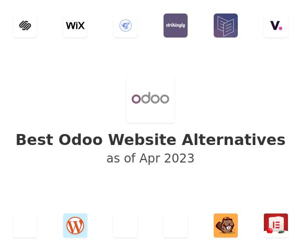 Best Odoo Website Alternatives