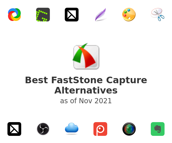 Best FastStone Capture Alternatives
