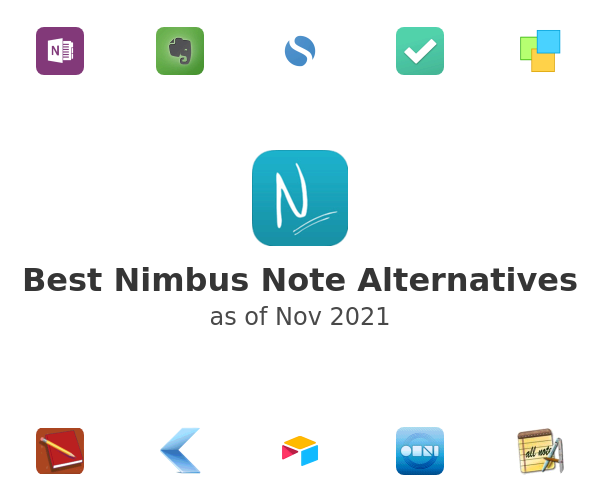 Best Nimbus Note Alternatives