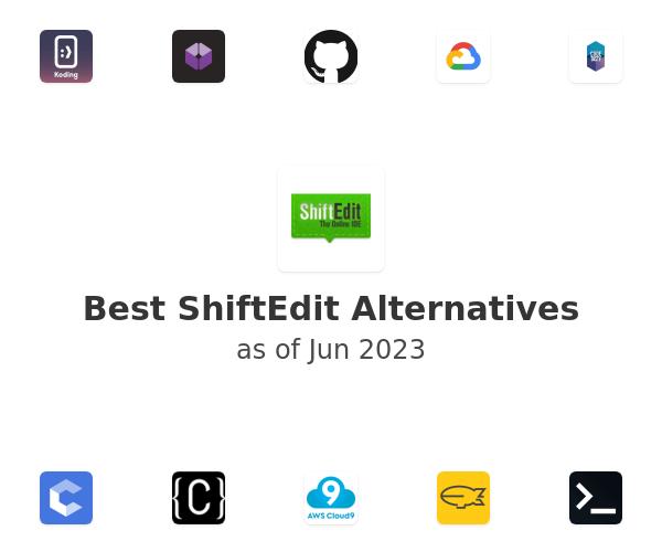 Best ShiftEdit Alternatives
