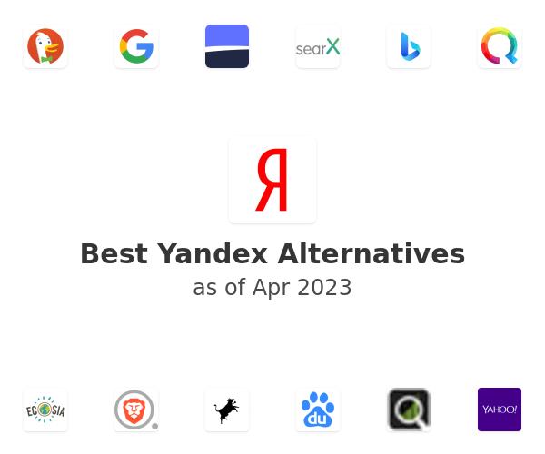 Best Yandex Alternatives