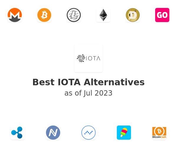 Best IOTA Alternatives