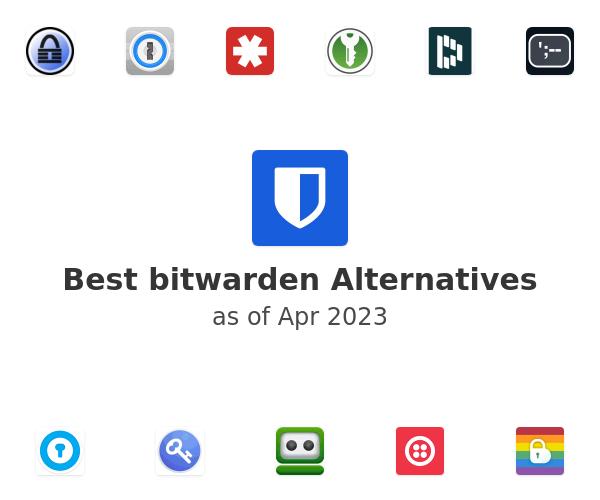 Best bitwarden Alternatives
