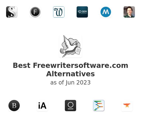 Best FreeWriter Alternatives