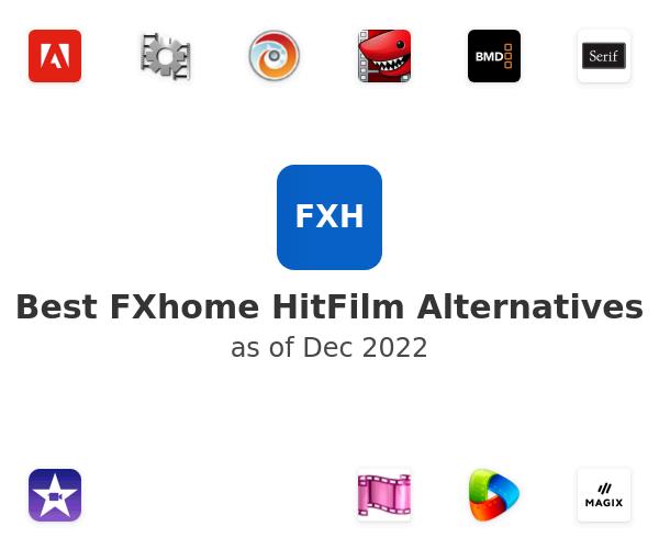 Best FXhome HitFilm Alternatives