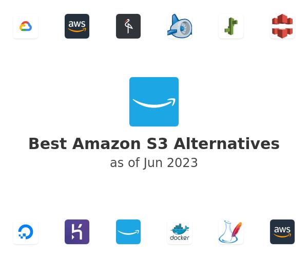 Best Amazon S3 Alternatives