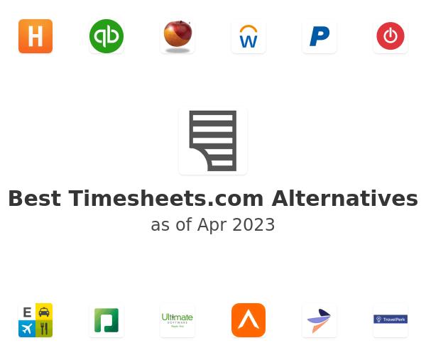 Best Timesheets.com Alternatives