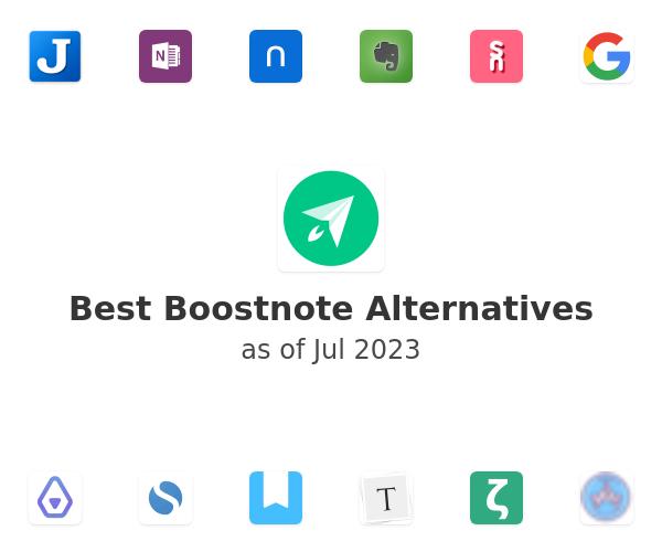 Best Boostnote Alternatives