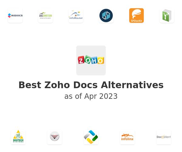 Best Zoho Docs Alternatives
