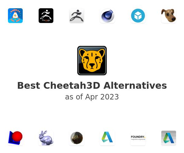 Best Cheetah3D Alternatives