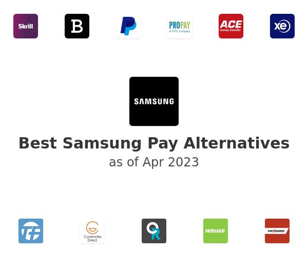 Best Samsung Pay Alternatives