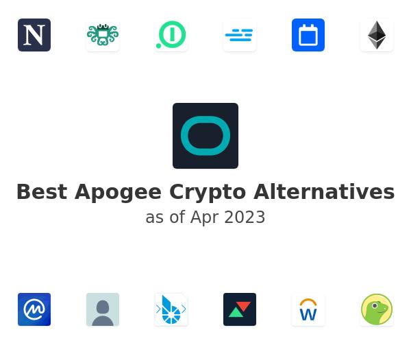 Best Apogee Crypto Alternatives