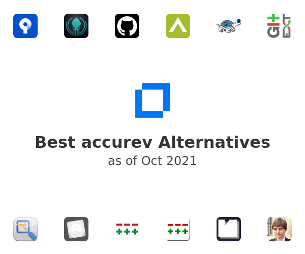 Best accurev Alternatives