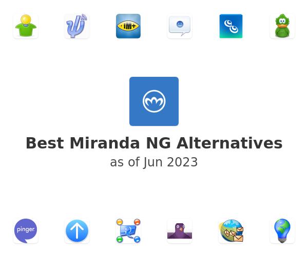 Best Miranda NG Alternatives