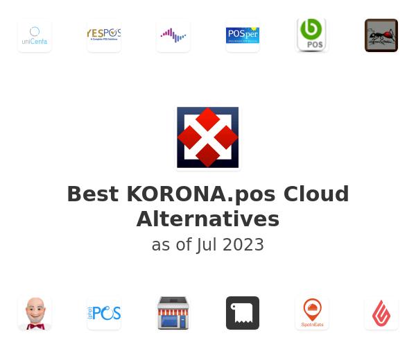 Best KORONA.pos Cloud Alternatives