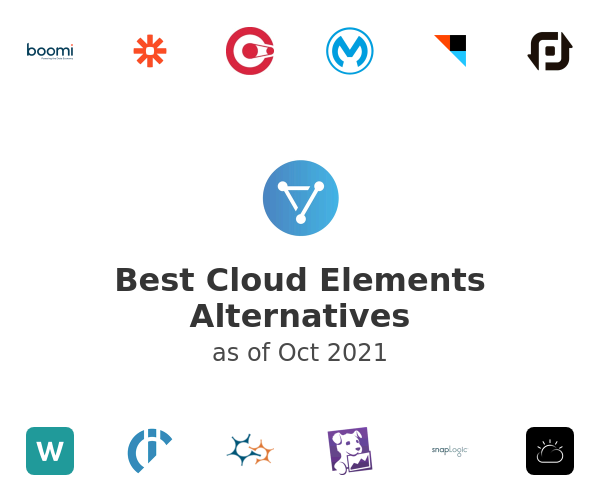 Best Cloud Elements Alternatives