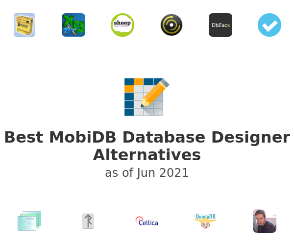 Best MobiDB Database Designer Alternatives