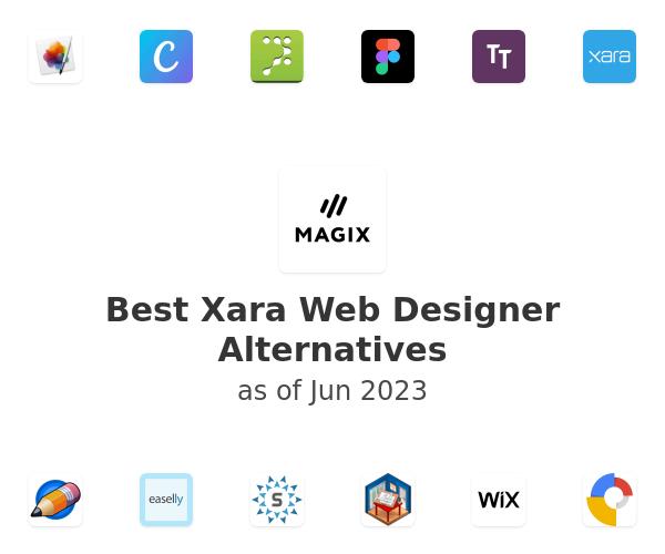 Best Xara Web Designer Alternatives