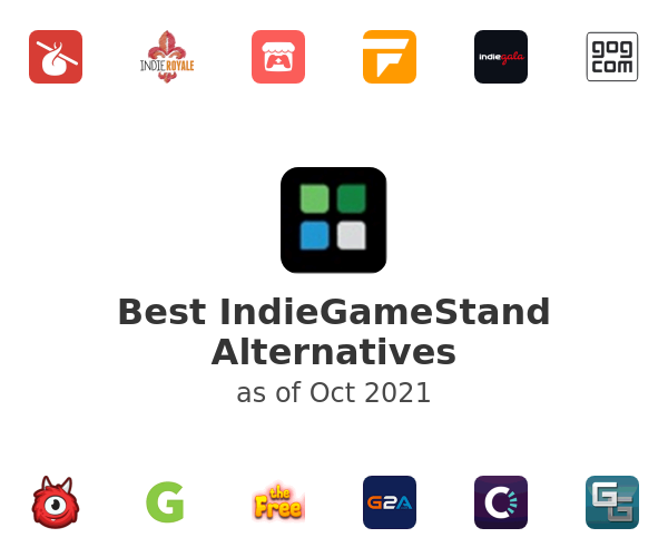 Best IndieGameStand Alternatives