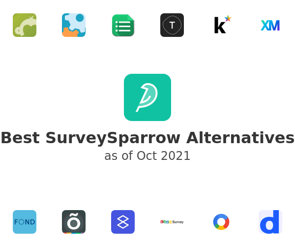 Best SurveySparrow Alternatives