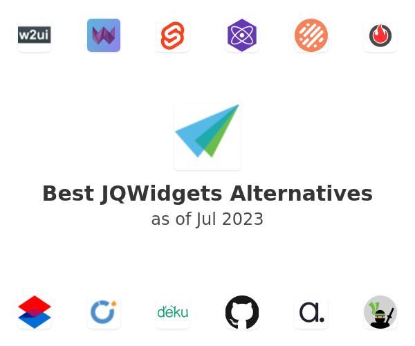 Best JQWidgets Alternatives
