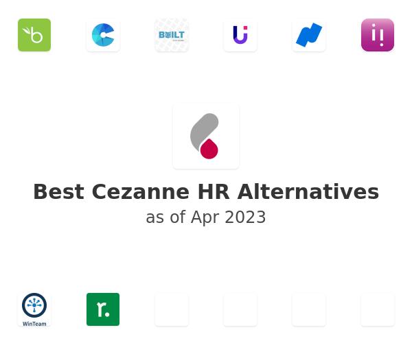 Best Cezanne HR Alternatives