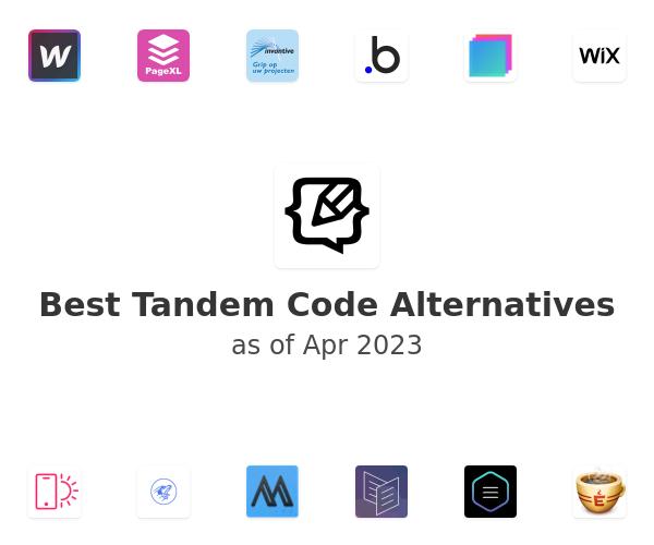 Best Tandem Code Alternatives