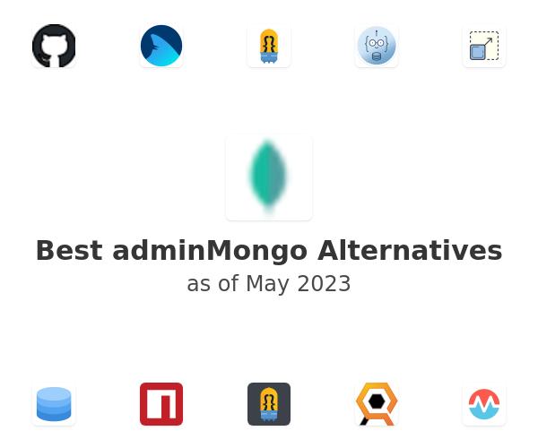Best adminMongo Alternatives