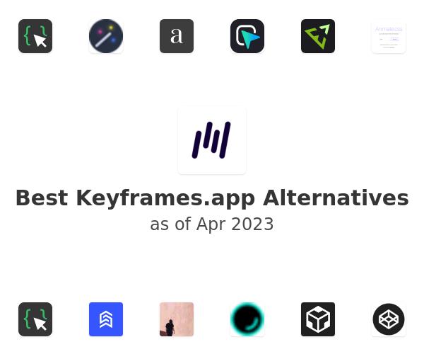 Best Keyframes.app Alternatives