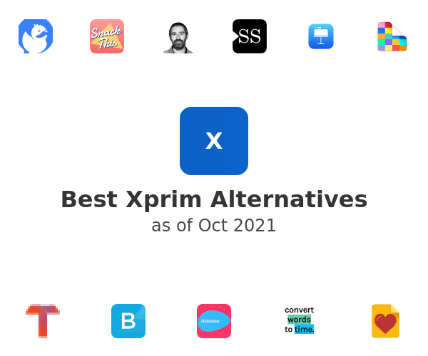 Best Xprim Alternatives