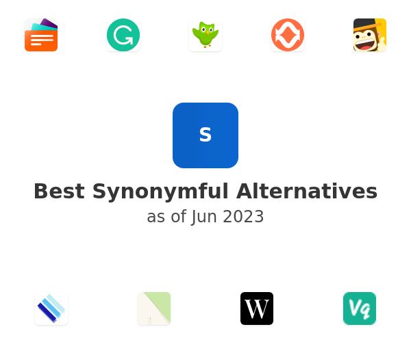 Best Synonymful Alternatives