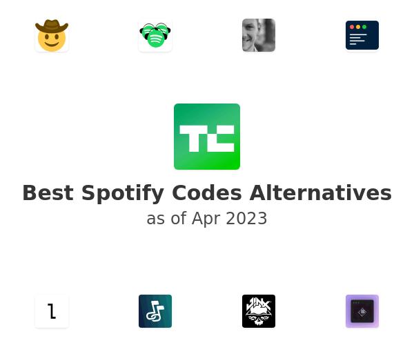 Best Spotify Codes Alternatives