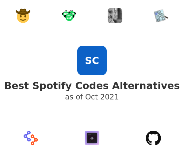 Best Spotify Codes Alternatives