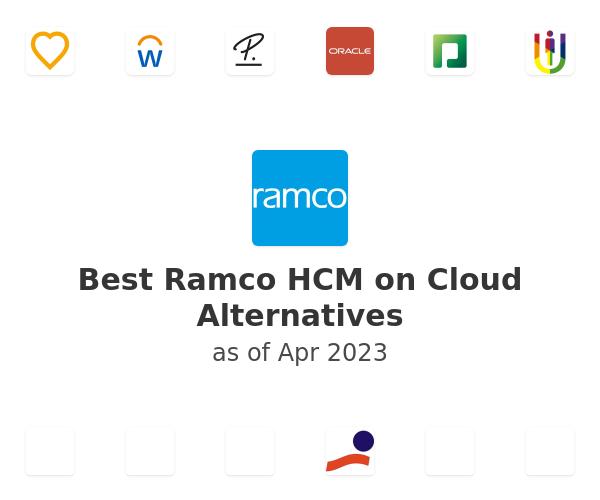 Best Ramco HCM on Cloud Alternatives