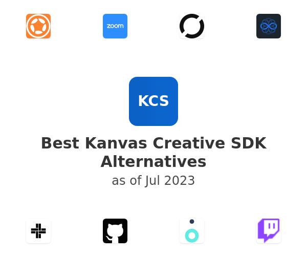 Best Kanvas Creative SDK Alternatives