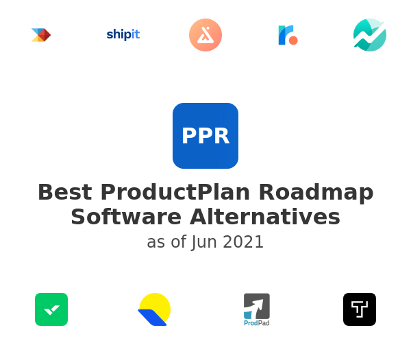 Best ProductPlan Roadmap Software Alternatives