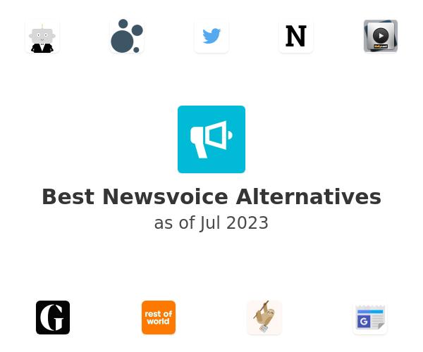 Best Newsvoice Alternatives