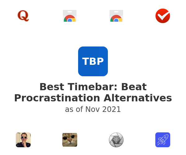 Best Timebar: Beat Procrastination Alternatives