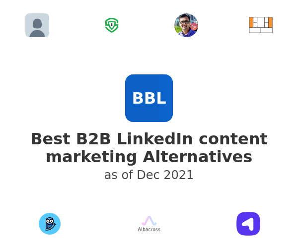 Best B2B LinkedIn content marketing Alternatives