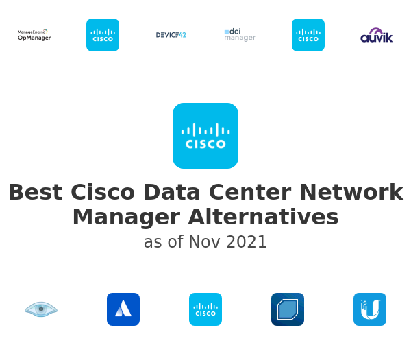 Best Cisco Data Center Network Manager Alternatives