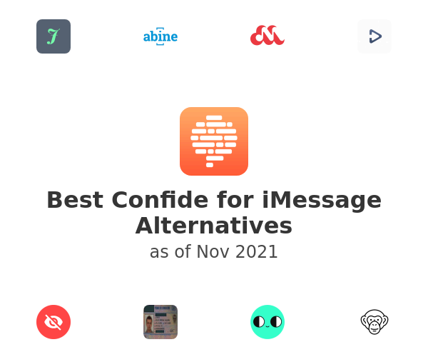 Best Confide for iMessage Alternatives